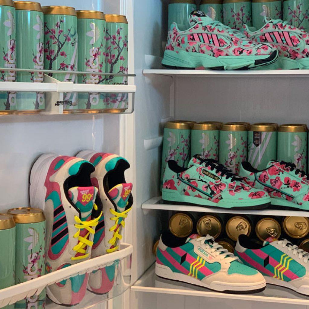 AriZona Iced Tea x adidas Originals - Mood 1