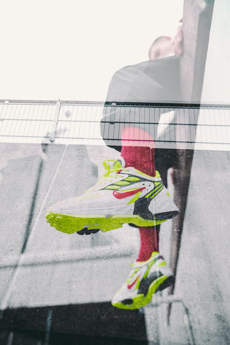 Nike Air Ghost Racer Neon Yellow (AT5410-100) - Mood 4