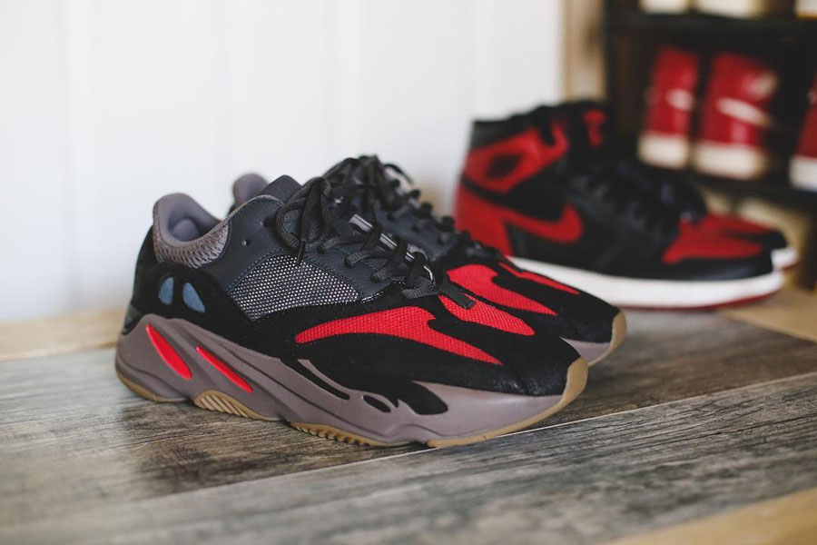 Sneaker Customs Release Officially - adidas YEEZY 700 Bred (by Huycustoms)