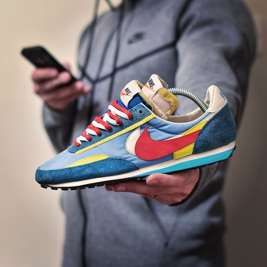 Sneaker Customs Release Officially - Nike Waffle Trainer sacai (by pugsandkicks)