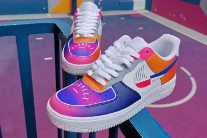Sneaker Customs Release Officially - Pigalle x Nike Air Force 1 (Sid By Sid)