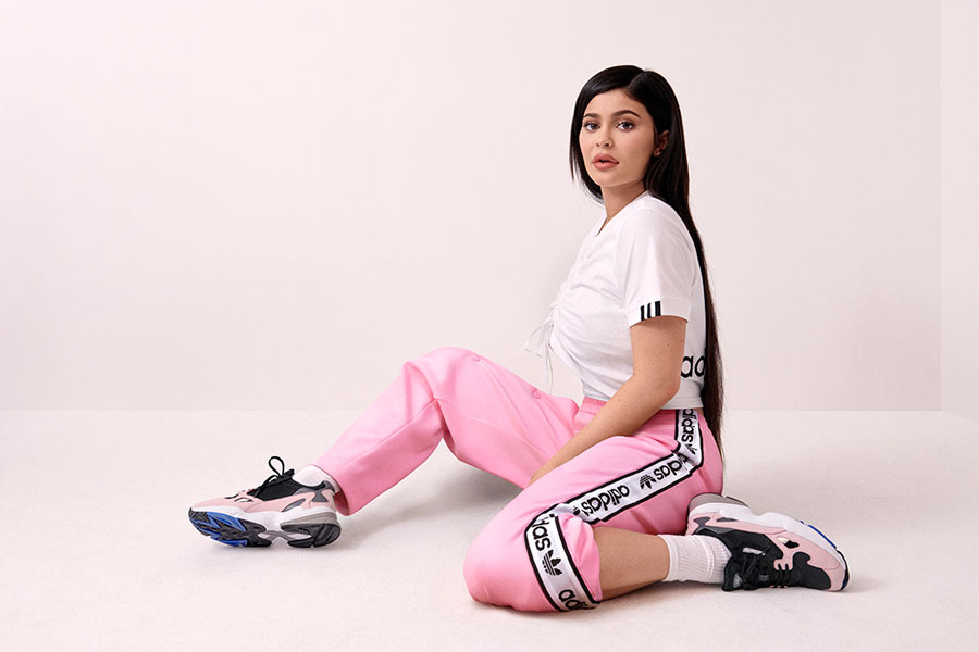 Influencer Marketing - Kylie Jenner (adidas Falcon)