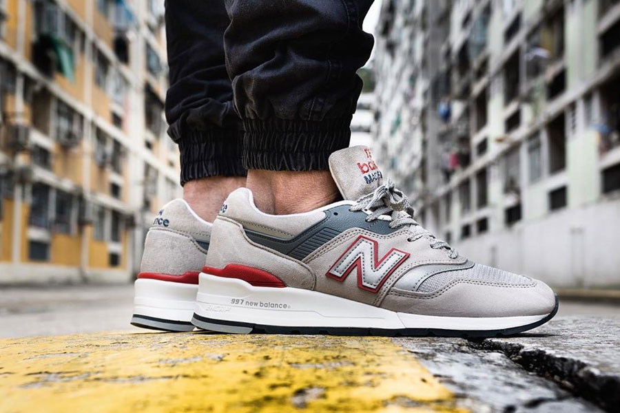 18 of Our Favorite New Balance 997 On-Feet Shots