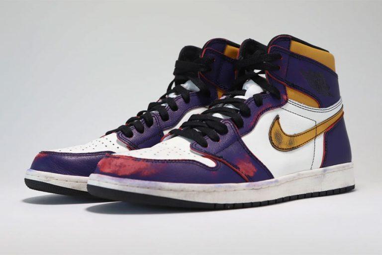 Nike Air Jordan 1 High OG Defiant LA To Chicago (CD6578-507) - Mood 7