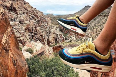 Sneakers in Nature - Instagram Shots (Sean Wotherspoon x Nike Air Max 1-97)