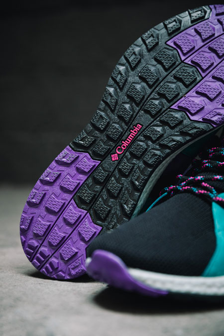 Columbia SH FT Outdry Mid (Black Groovy Pink) - Mood 6