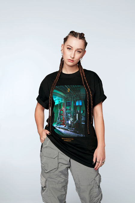 Jägermeister firstdrop Streetwear Collection - Inside Shot Tee