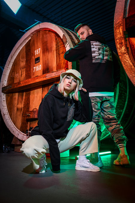 Jägermeister firstdrop Streetwear Collection - Mood 5