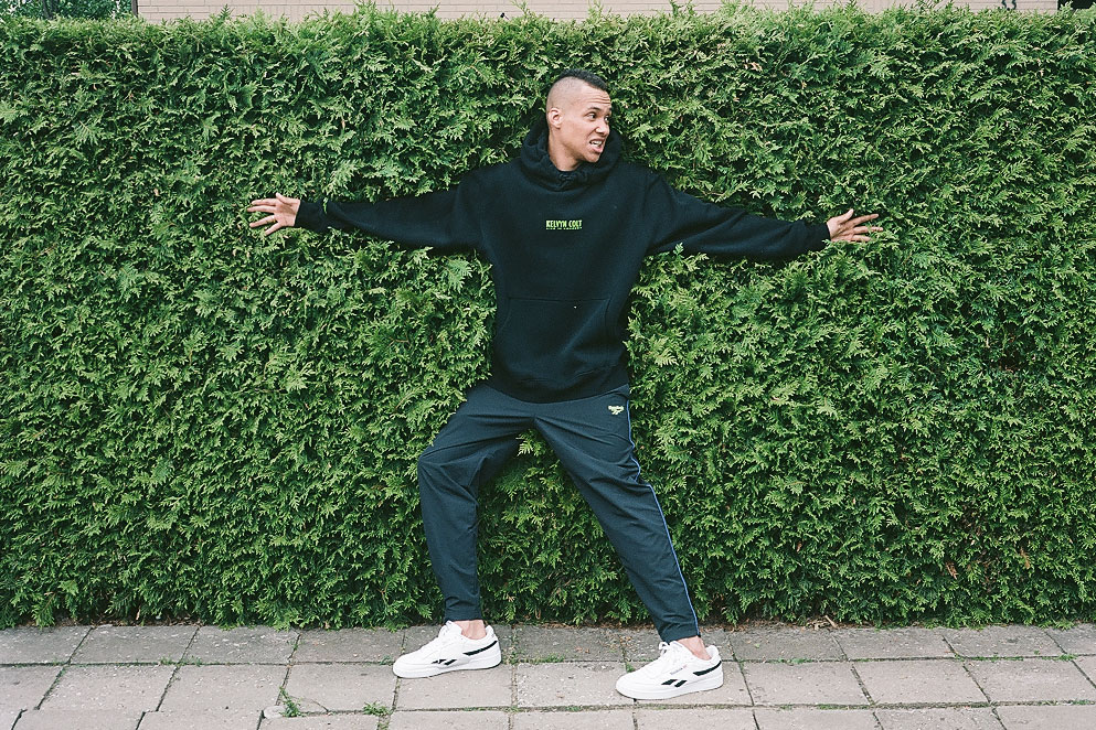 Kelvyn Colt and Reebok Celebrate Individuality over Hype