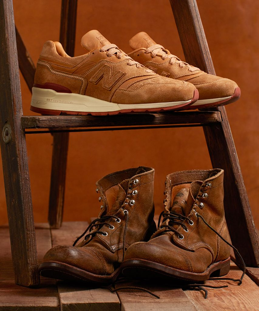 Red Wing Heritage x New Balance 997 - Mood 6