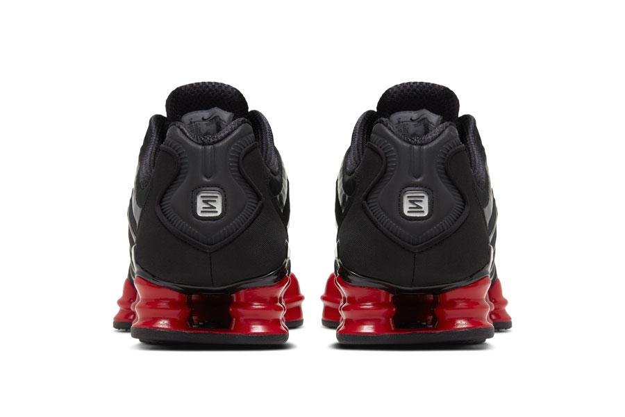 Skepta x Nike SK SHOX TL Bloody Chrome - Back