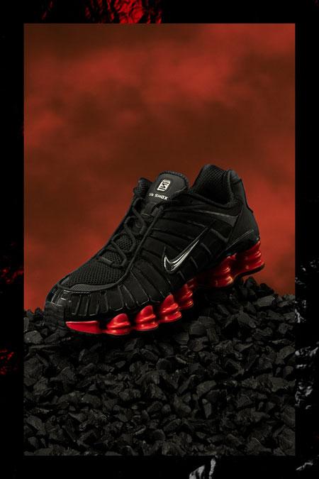 Skepta x Nike SK SHOX TL Bloody Chrome - Mood 2