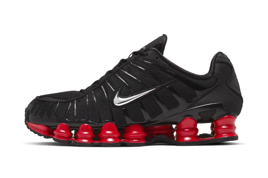 Skepta x Nike SK SHOX TL Bloody Chrome - Side