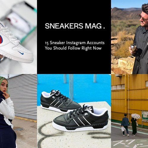 15 Sneaker Instagram Accounts to Follow Right Now