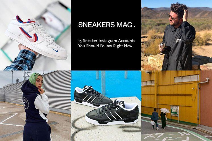 15 Sneaker Instagram Accounts