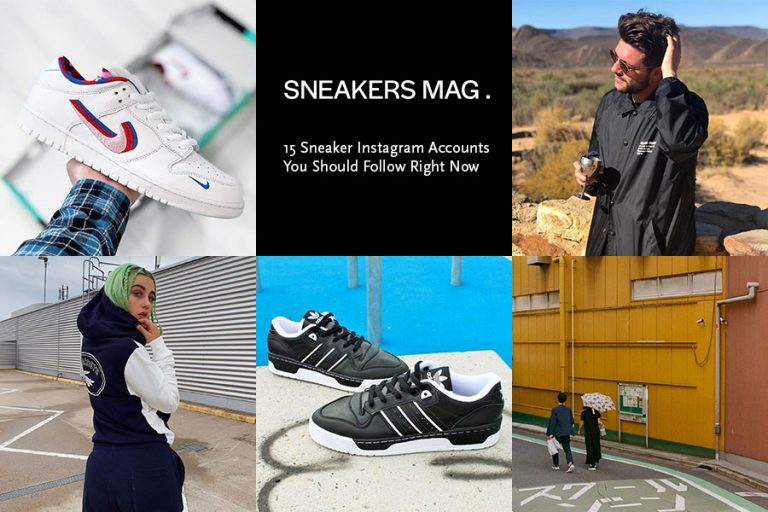 15 Sneaker Instagram Accounts