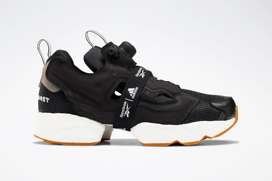 adidas x Reebok Instapump Fury BOOST - Black Gum