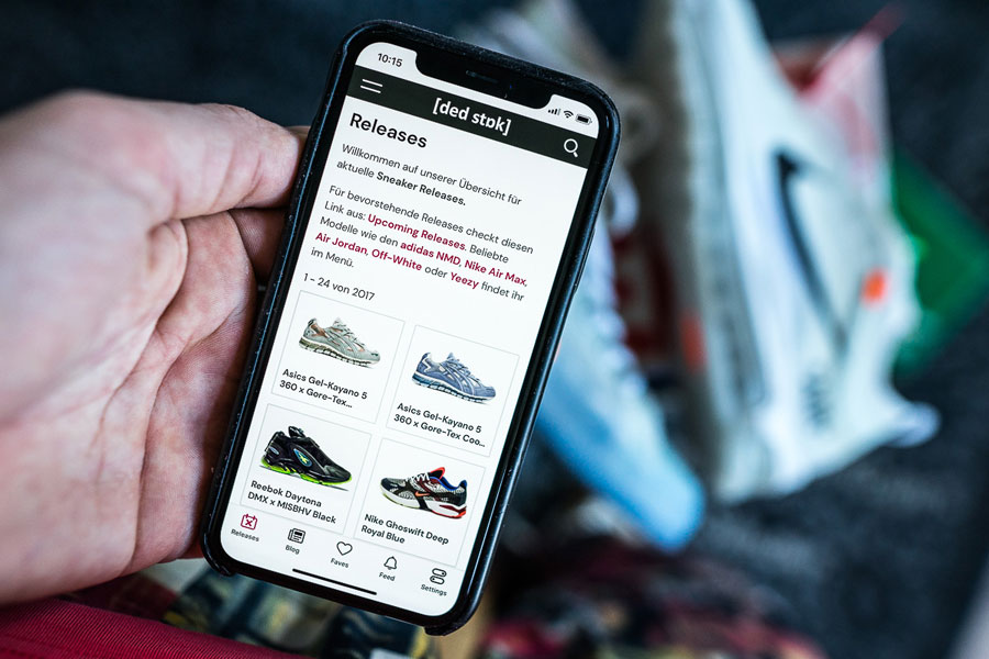 Never Miss a Sneaker Release with the DEAD STOCK App