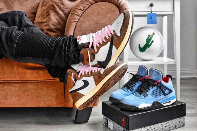 Nike x Travis Scott Sneaker Collabs - Title