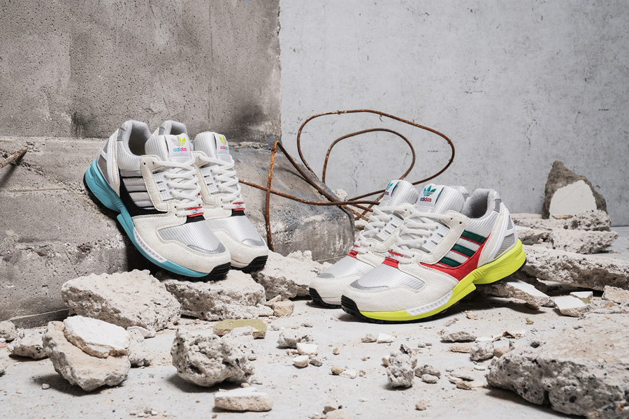 Overkill x adidas ZX 8000 No Walls Needed Pack - Mood 1