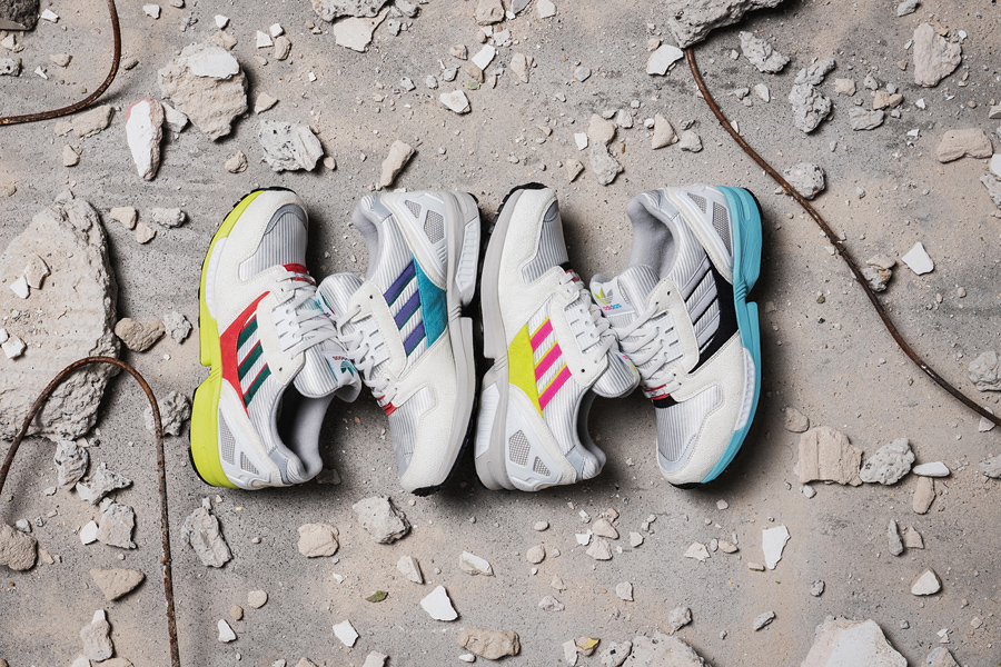Overkill x adidas ZX 8000 No Walls Needed Pack - Mood 2