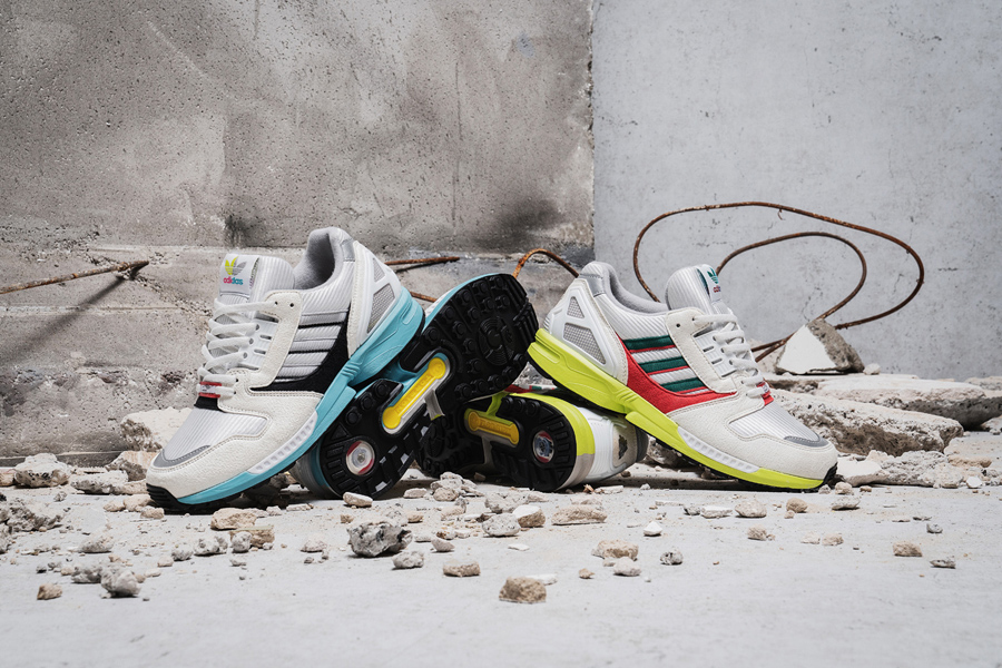 Overkill x adidas ZX 8000 No Walls Needed Pack - Mood 3