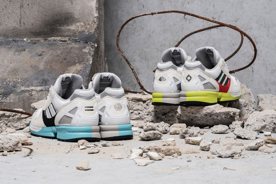 Overkill x adidas ZX 8000 No Walls Needed Pack - Mood 4