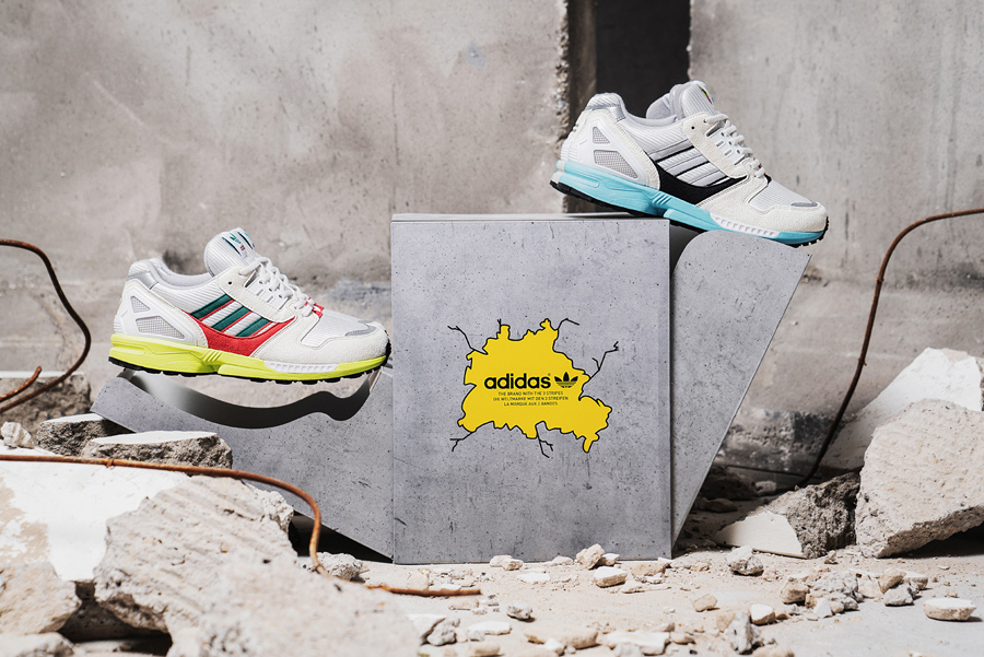 Overkill x adidas ZX 8000 No Walls Needed Pack - Mood 5