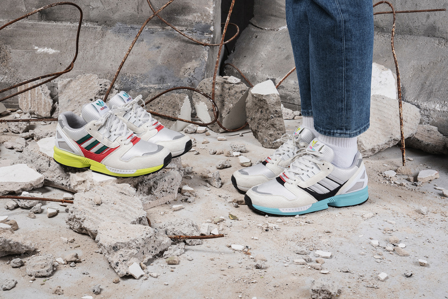 Overkill x adidas ZX 8000 No Walls Needed Pack - Mood 6
