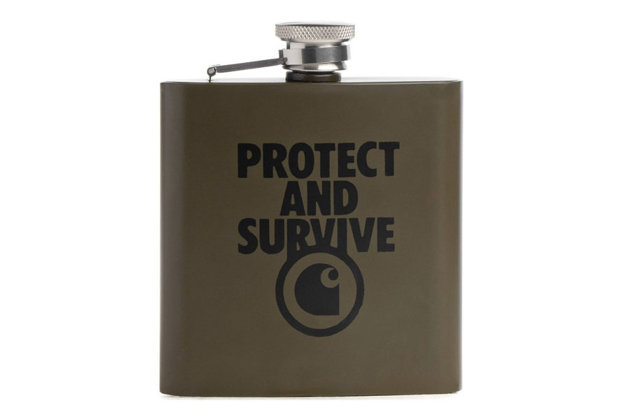 Sneaker Accessories - Carhartt WIP Whiskey Flask
