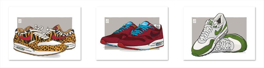 Sneaker Accessories - Egotrips Posters