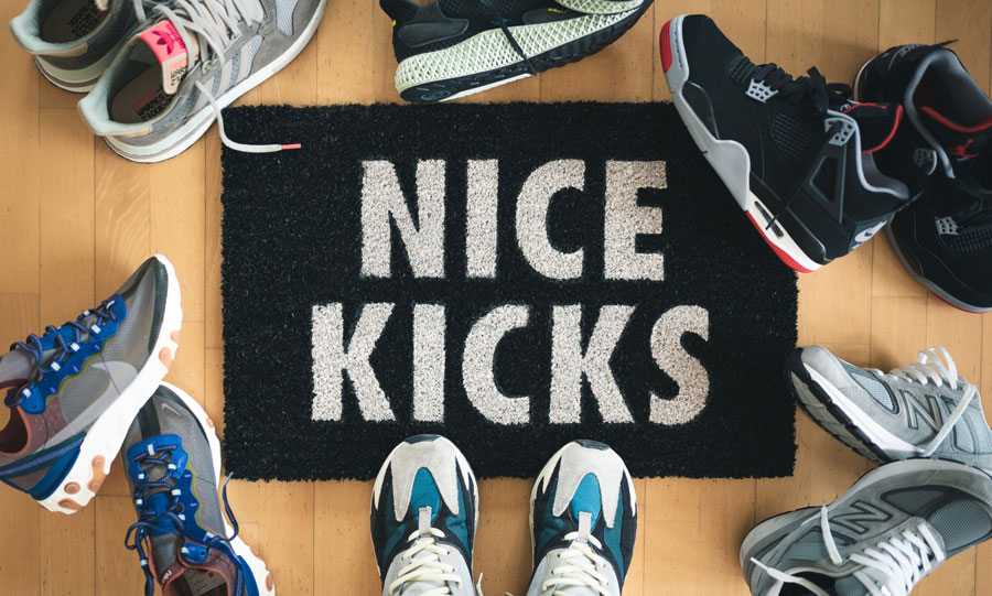 Sneaker Accessories - Nice Kicks Doormat by Need More