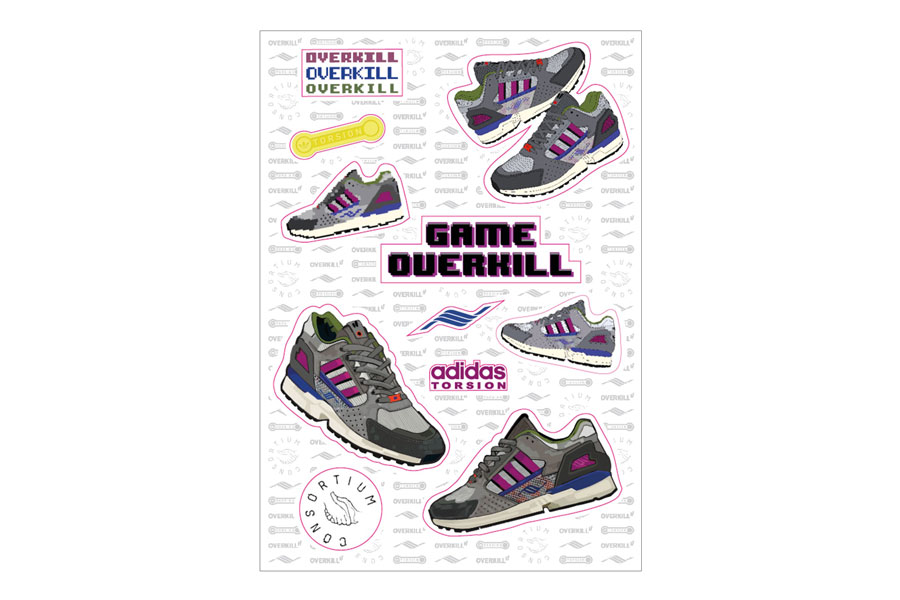 Sneaker Accessories - Overkill adidas ZX10K Magnets