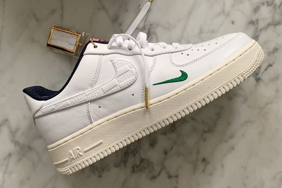 A Closer Look at the KITH x Nike Air Force 1