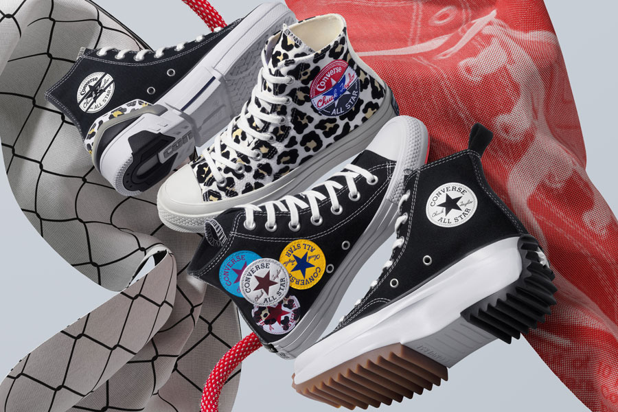 "Converse Presents a Bold Collection of ""Twisted Classics"""