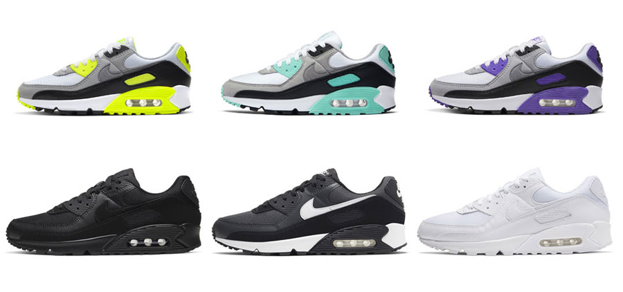 Nike Air Max 90 – January 2020 Colorways | Sneakers Magazine