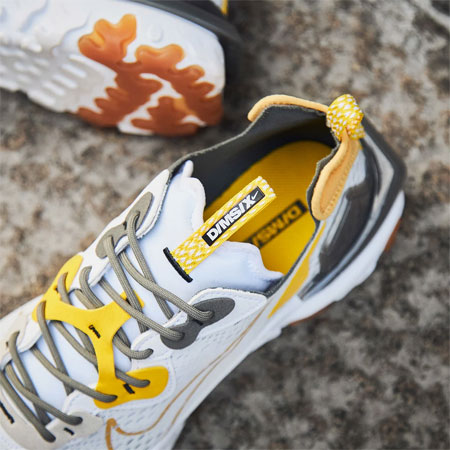 Nike React Vision DMSX DimSix (CD4373-100) Honeycomb - Mood 2
