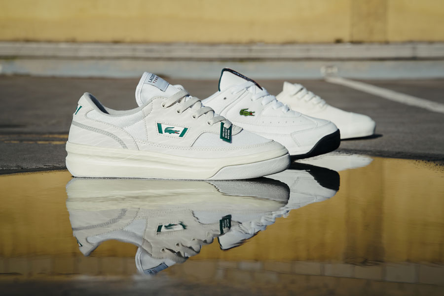 "Lacoste Brings Back 3 Classic Sneakers With the ""Heritage Pack"""