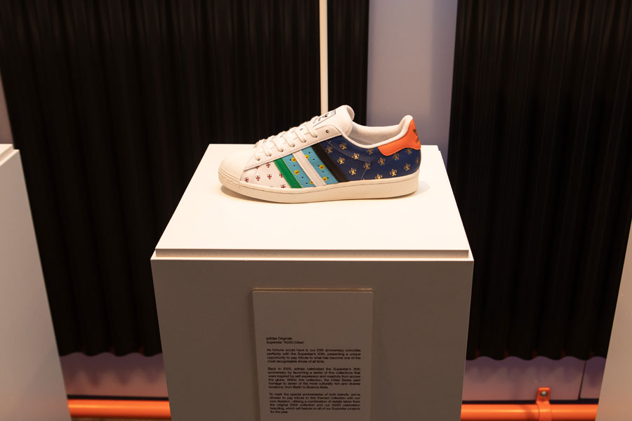 size 20th Anniversary - adidas Superstar 50-20 Cities