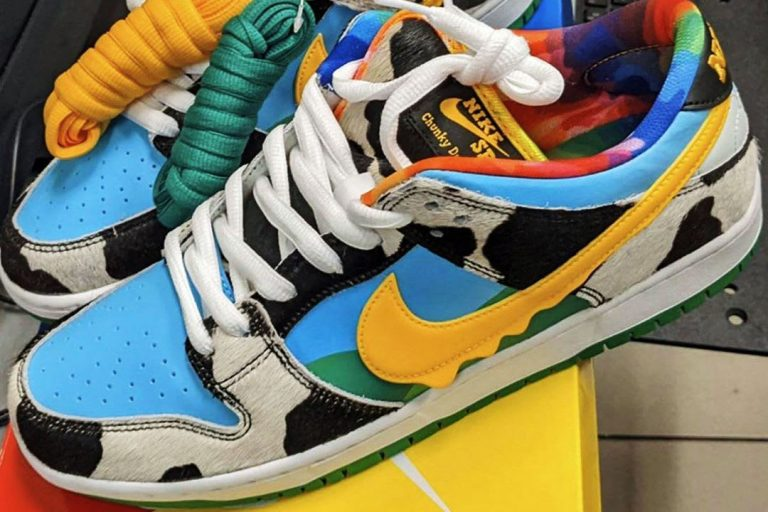 Ben & Jerry's x Nike SB Dunk Low Chunky Dunky - 1