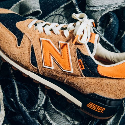 Levi's and New Balance Team up for a US-Made 1300