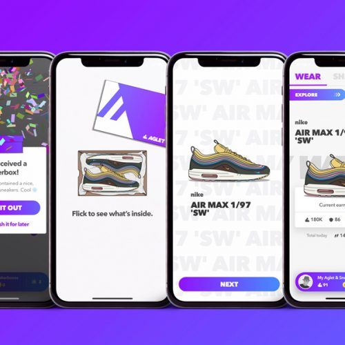 Aglet Is the Sneaker Gaming App You Need on Your Phone