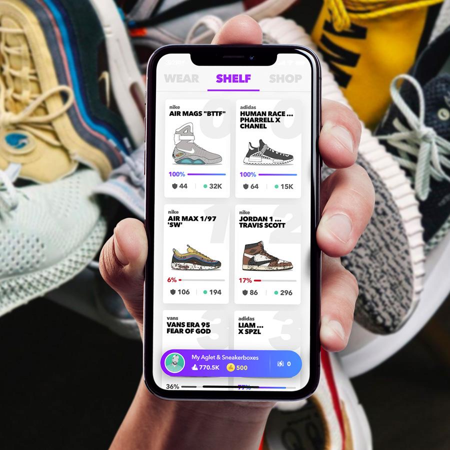 Aglet - Mobile Sneaker App (2)