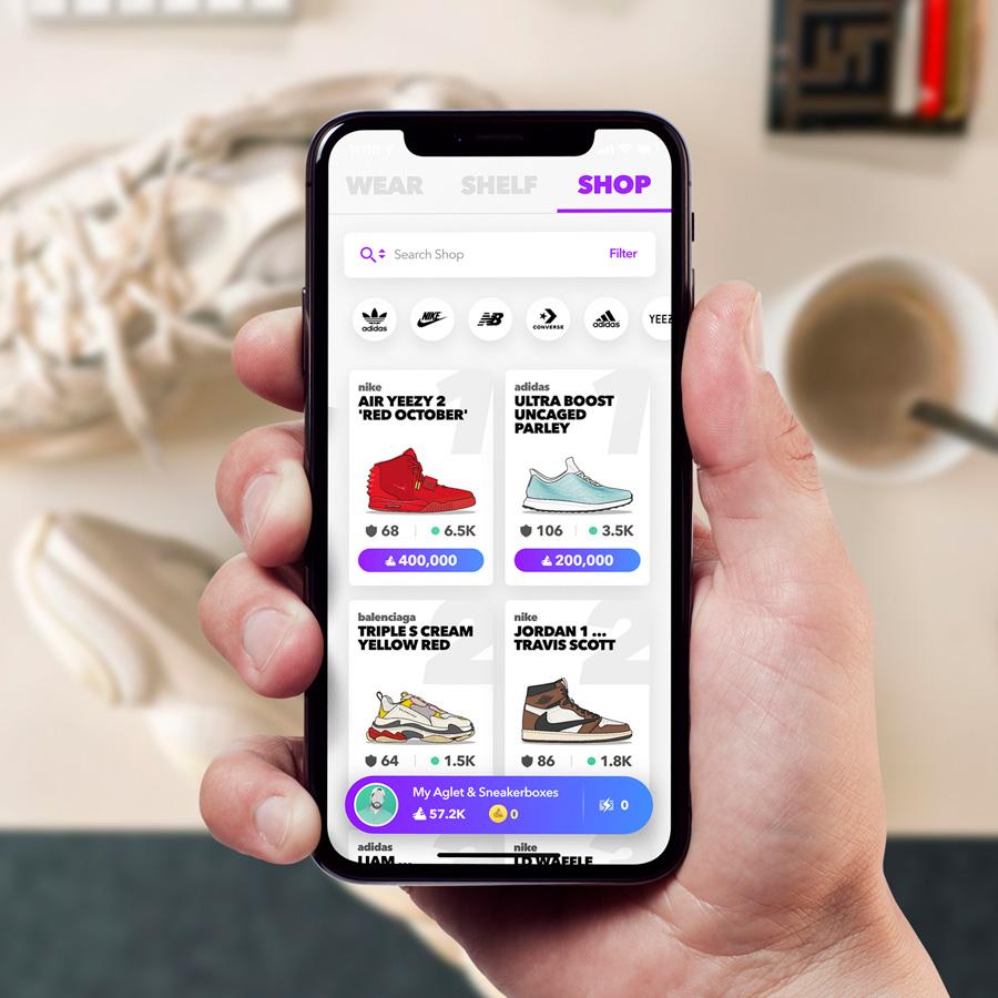 Aglet - Mobile Sneaker App (4)