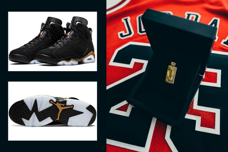 Air Jordan 6 Retro DMP (CT4954-007) - Kickz Gold Hangtag (Mood 1)