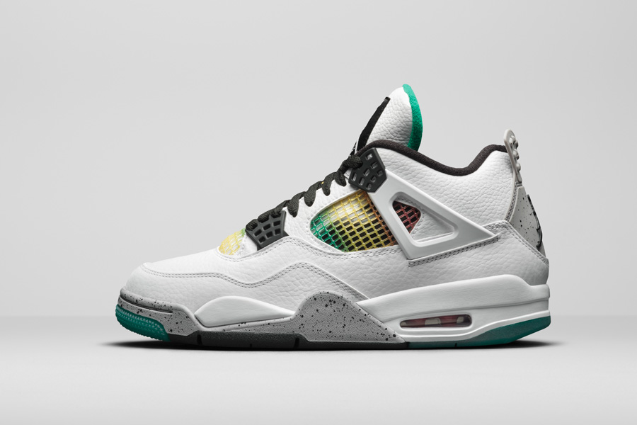 Nike Air Jordan 4 Retro Women's Rasta (AQ9129-100)