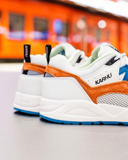 Karhu Fusion 2.0 Metro Pack White Burnt Orange (F804071) - 3