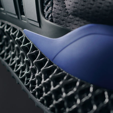 adidas Ultra 4D Black Purple (FW7089) - 4