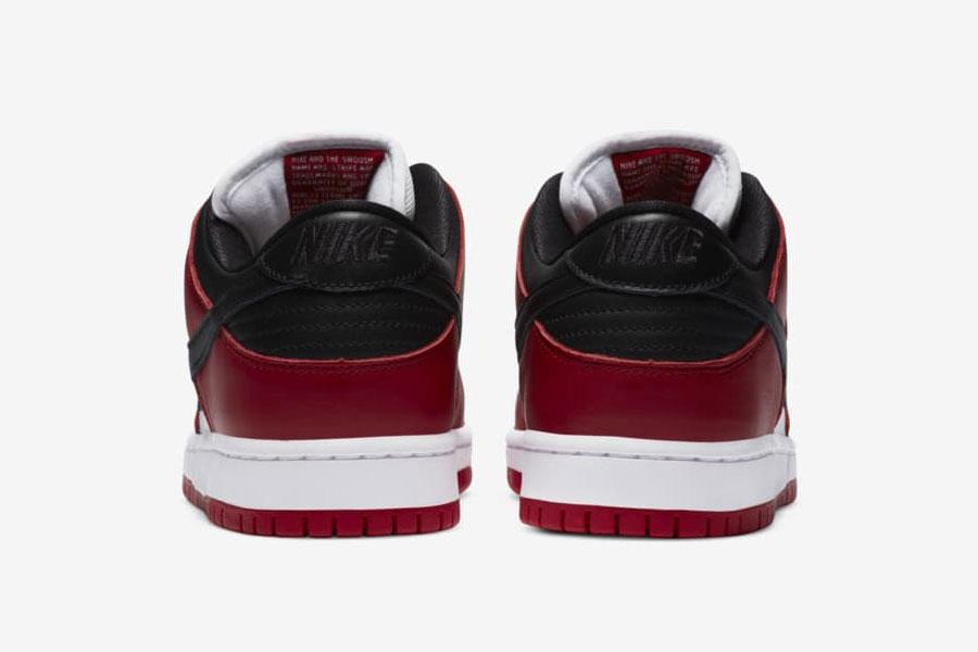 Nike SB Dunk Low Pro Chicago (BQ6817-600) - Back
