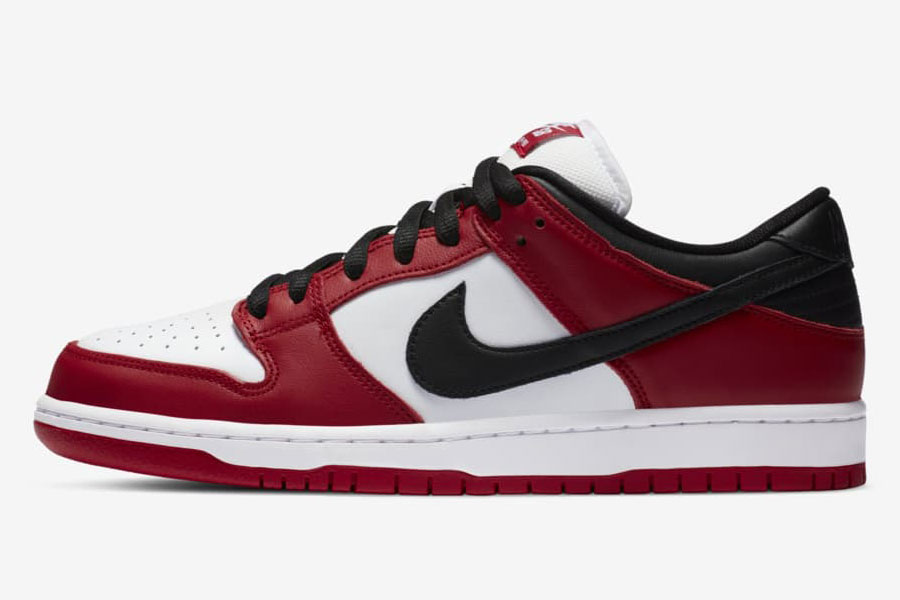 Nike SB Dunk Low Pro Chicago (BQ6817-600) - Left